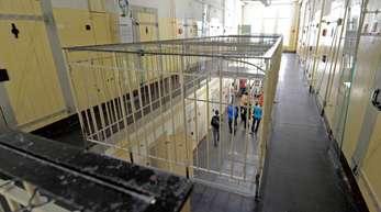 Zellentrakt in einem früheren Stasi-Gefängnis in Bautzen.