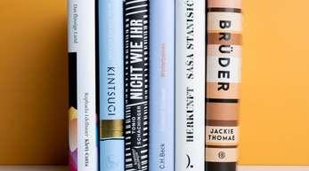 Sechs Bücher sind für den Deutschen Buchpreis nominiert.