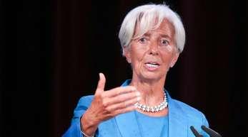 Christine Lagarde wird neue Präsidentin der Europäischen Zentralbank.