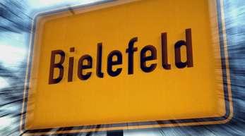 Ortsschild in Bielefeld: Die Stadt ist nach eingehender Prüfung zum dem Schluss gekommen, dass sie allen Gerüchten zum Trotz existiert.