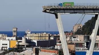 Nach der Genua-Katastrophe vor mehr als einem Jahr hatte die Polizei auch andere Autobahnbrücken aus dem Autostrade-Netz unter die Lupe genommen.