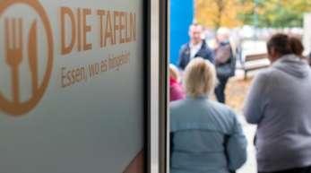 Die Tafeln in Deutschland verzeichnen nach eigenen Angaben einen starken Kundenzuwachs.