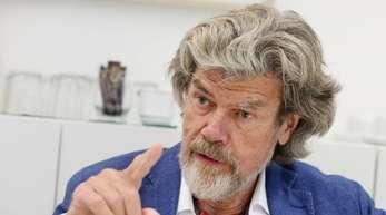 Reinhold Messner ist der Meinung, dass Verzicht wieder etwas Positives werden muss.