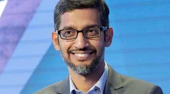 Sundar Pichai, Vorstandsvorsitzender von Google.