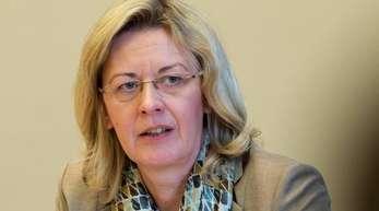 Hört frühzeitig auf: Heike Fölster, Geschäftsführerin Finanzen beim Flughafen Berlin Brandenburg.