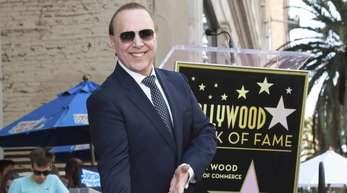Tommy Mottola wird mit einem Stern auf dem Hollywood «Walk of Fame» geehrt.