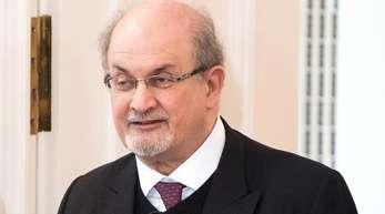 Salman Rushdie bei einer Diskussionsveranstaltung 2017 in Berlin.