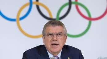 Thomas Bach will die Entscheidung über einen Start russischer Athleten in Tokio 2020 der WADA und dem CAS überlassen.