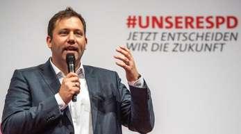 SPD-Generalsekretär Lars Klingbeil: «Die Parteibasis wünscht sich mehr Miteinander in der SPD.».