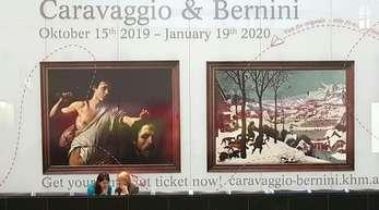 """Die Ausstellung """"Caravaggio & Bernini"""" ist vom 15. Oktober 2019 bis 19. Januuar 2020 im Kunsthistorischen Museum zu sehen."""