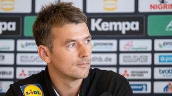 Ist mit Deutschlands Handballern in zwei Testspielen gefordert:Christian Prokop.