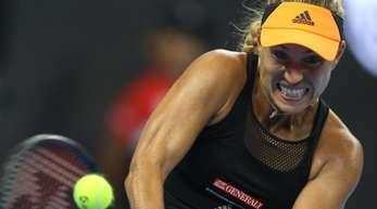 Angelique Kerber beendete ihre bescheidenen Tennis-Saison.