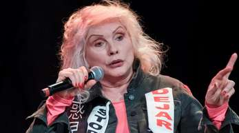 Punk-Legende Debbie Harry in Hamburg.