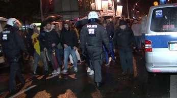 Demonstrationen gegen den türkischen Einmarsch in Nordsyrien in Bottrop.
