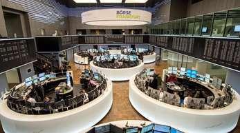 Die Börse in Frankfurt.