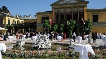 Bad Ischl im Salzkammergut in Österreich wird eine der Europäischen Kulturhauptstädte 2024.