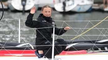 Wird auf einem Katamaran von der Ostküste der USA zur UN-Klimakonferenz in Madrid segeln: Klimaaktivistin Greta Thunberg.