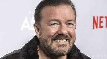 Ricky Gervais moderiert noch einmal die Golden Globe-Verleihung.