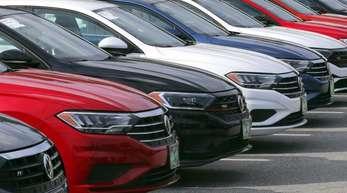 Limousinen des Modells Jetta, das unter anderem in den USA zum VW-Portfolio gehört.