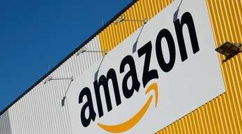 Ein Amazon-Logistikzentrum.
