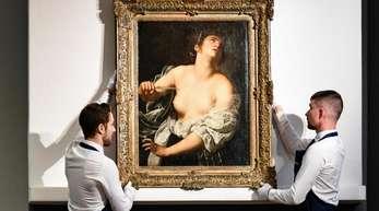 """Das Gemälde """"Lucretia"""" (ca. 1630) von Artemisia Gentileschi erzielte in Paris einen Rekord."""