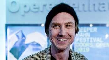 Lars Eidinger beim Reeperbahn-Festival in Hamburg.