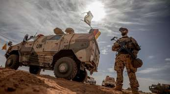 Bundeswehrsoldaten im Norden Malis.