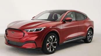 Ford setzt auf die Anziehungskraft seiner Sportwagenmarke Mustang, um im Geschäft mit Elektroautos Fuß zu fassen.
