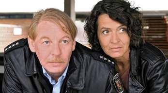 Ben Becker und Ulrike Folkerts im «Tatort - Die Pfalz von oben».