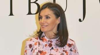 Königin Letizia von Spanien besuchte zum Jubiläum das Prado-Museum.