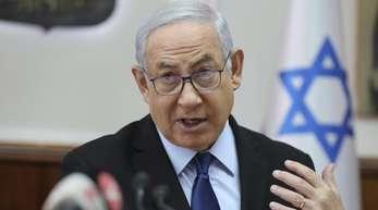 Israels Ministerpräsident Netanjahu: «Ich habe klargemacht, wer uns trifft, den treffen wir.».