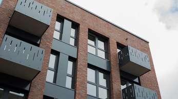 Blick auf eine Neubauwohnung in Münster. Gebremst wird Neubau dadurch, dass Flächen in Ballungsräumen knapp sind.