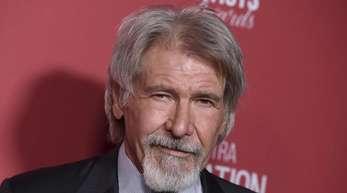 Harrison Ford schlägt sich mit dem Vierbeiner Buck durch die Wildnis von Alaska.