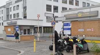 Blick auf die Berliner Schlosspark-Klinik.
