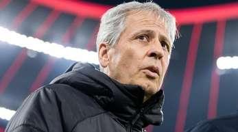 Lucien Favre möchte das Spiel gegen die Bayern schnell vergessen machen.