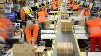 Amazon-Logistikzentrum in Pforzheim:Der Online-Handel boomt.