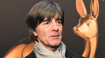 Joachim Löw bei der Bambi-Verleihung in Baden-Baden.