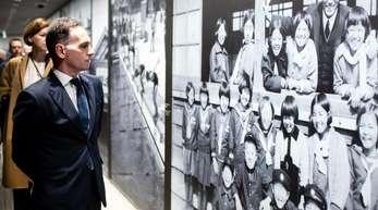 Außenminister Heiko Maas besucht das Friedensmuseum von Hiroshima.