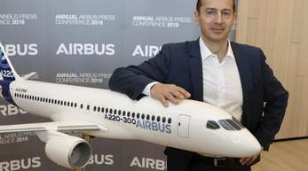 Airbus-Chef Guillaume Faury.