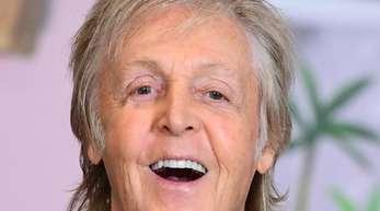 Paul McCartney ist gerne Großvater.