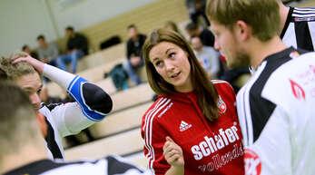 FBC-Trainerin Birthe Lilienthal weiß um die Schwere der Aufgabe gegen den TV Schweinfurt-Oberndorf.