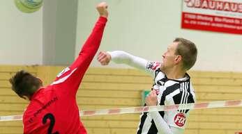 Angreifer Sven Muckle (rechts) konnte mit dem FBC Offenburg zwei wichtige Punkte einfahren.