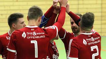 Die Faustballer des FBC Offenburg wollen sich im Heimspiel am Samstag mit vereinten Kräften für die Hinspiel-Niederlage gegen den TV Vaihingen/Enz revanchieren.