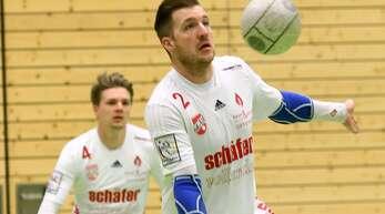 Stefan Konprecht (v.) und Matthias Lilienthal (h.) können nach dem gesicherten Klassenerhalt mit dem FBC Offenburg am Freitag und Samstag befreit aufspielen.
