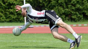 Oliver Späth musste sich mit dem FBC Offenburg im letzten Heimspiel der Feldrunde dem TSV Calw geschlagen geben.