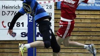 Sven Muckle (r.) und die FFW Offenburg waren gegen Tabellenführer Pfungstadt ohne Chance.