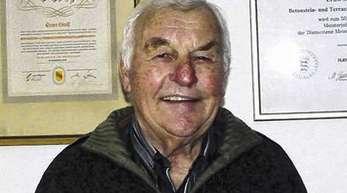 Foto: Dieter Fink - Ernst Stoll wurde am Freitag beerdigt.