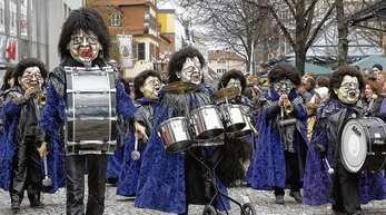 Archivfoto: Peter Heck - Sie trommeln und päpern im 33. Jahr: Die Mitglieder der »Schwellkepf«, hier ein Foto von 2010, feiern in diesem Jahr ein besonderes Jubiläum.