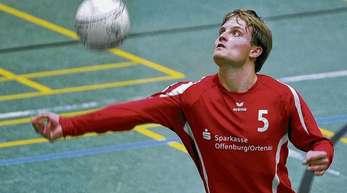 Iris Rothe - Zuspieler Thomas Häusler setzte die Angreifer des FFW Offenburg bei den Siegen gegen Oppau und Weisel II immer wieder gut in Szene.