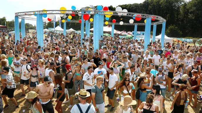 "Etwa 8000 Gäste kamen 2015 zum ""Kamehameha""-Festival."